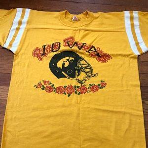 Vintage Iowa Hawkeyes Rose Bowl T Shirt Size L